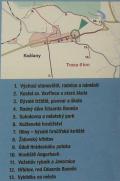 Mapka s popisem stanovišť