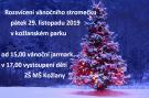 Rozsvícení vánočního stromečku 1