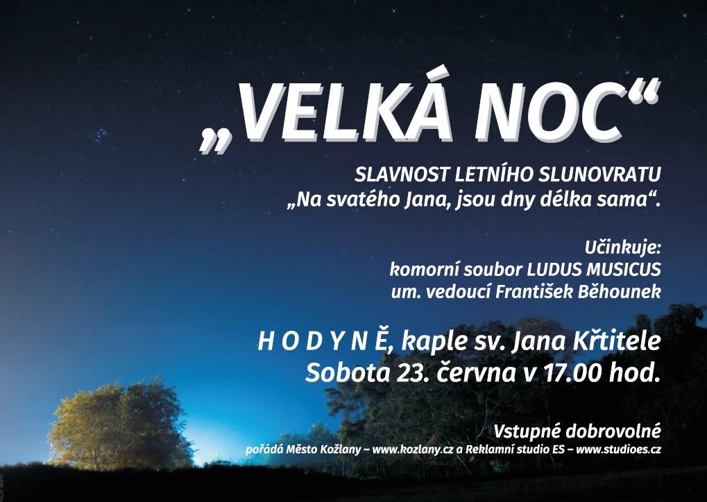 VELKÁ NOC - koncert v Hodyni